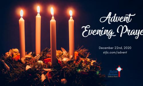 Advent Evening Prayer